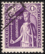 Luxembourg 1932 75c+10c purple Child Welfare postally used.