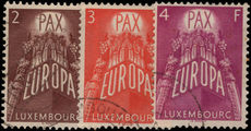 Luxembourg 1957 Europa Set Used