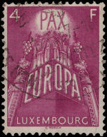 Luxembourg 1957 4fr Europa fine used.