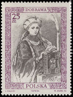 Poland 1986 Queen Dobrawa unmounted mint.