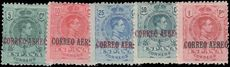 Spain 1920 Air set fine mint lightly hinged.