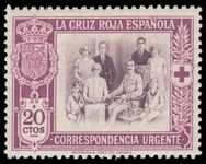 Spain 1926 Red Cross Express lightly mounted mint.
