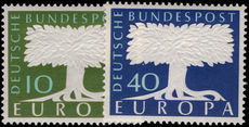West Germany 1957-58 Europa unmounted mint.