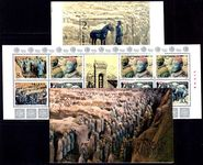 Peoples Republic of China 1983 Terracotta Army exploded booklet unmounted mint.