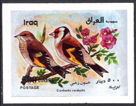 Iraq 2000 Birds souvenir sheet unmounted mint.