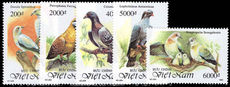 Vietnam 1992 Pigeons and Doves unmounted mint.
