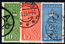 Denmark 1929 Cancer Research set fine used.