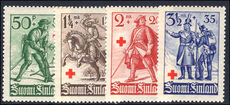 Finland 1935 Red Cross unmounted mint.