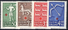 Finland 1943 Red Cross unmounted mint.