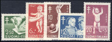 Finland 1947 Anti-TB fund unmounted mint.