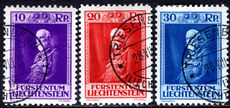 Liechtenstein 1933 Birthday fine used.