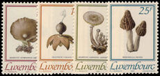 Luxembourg 1991 Fungi unmounted mint.