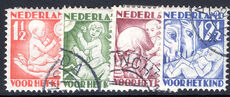 Netherlands 1930 Child Welfare normal perfs fine used.