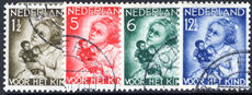 Netherlands 1934 Child Welfare perfs fine used.