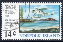 Norfolk Island 1974 First Aircraft fine used.