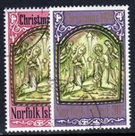 Norfolk Island 1974 Christmas fine used.