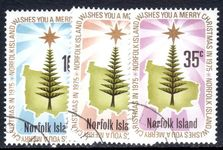 Norfolk Island 1975 Christmas fine used.