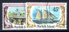 Norfolk Island 1975 Schooner Resolution fine used.