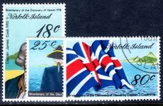 Norfolk Island 1978 Captain Cook (5th) fine used.