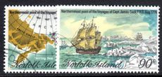 Norfolk Island 1978 Captain Cook (6th) fine used.