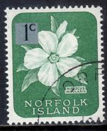 Norfolk Island 1966 1c larger tablet fine used.