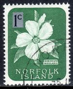 Norfolk Island 1966 1c smaller tablet fine used.