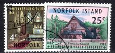 Norfolk Island 1966 Mission fine used.
