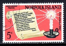 Norfolk Island 1967 Christmas fine used.