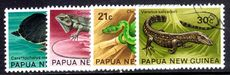 Papua New Guinea 1972 Fauna Conservation (Reptiles)/