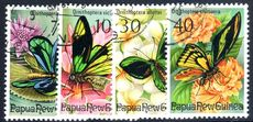 Papua New Guinea 1975 Fauna Conservation (Birdwing Butterflies) fine used.