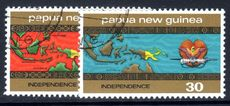 Papua New Guinea 1975 Independence fine used.