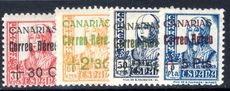 Canary Islands 1937 December air set unmounted mint.