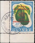 Guinea 1960 United Nations 25f fine used.