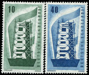 West Germany 1956 Europa unmounted mint.