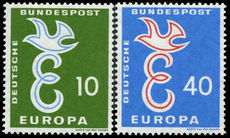 West Germany 1958 Europa unmounted mint.