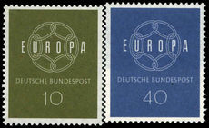 West Germany 1959 Europa unmounted mint.