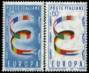 Italy 1957 Europa unmounted mint.