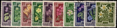 Austria 1948 Anti-TB flowers fine used.