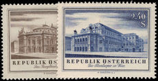 Austria 1955 State Opera House unmounted mint.