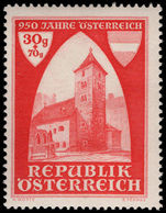 Austria 1946 First use of Osterreich unmounted mint.