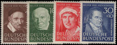 West Germany 1951 Humanitarian Relief Fund unmounted mint