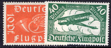 Germany 1919 Air mail mounted mint.