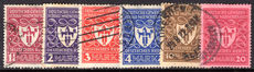 Germany 1922 Munich Exhibition fine used.