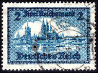 Germany 1930 2m Reichsmark fine used.