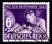 Third Reich 1942 Stamp Day fine used.