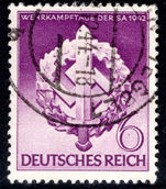 Third Reich 1942 SA Sports Day fine used.