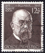 Third Reich 1944 Dr Robert Koch fine used.