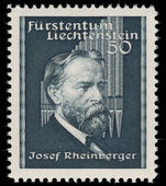 Liechtenstein 1939 Rheinburger unmounted mint.