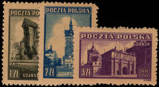 Poland 1945 Liberation of Gdansk unmounted mint.