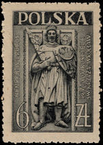 Poland 1946 Tomb of St John unmounted mint.